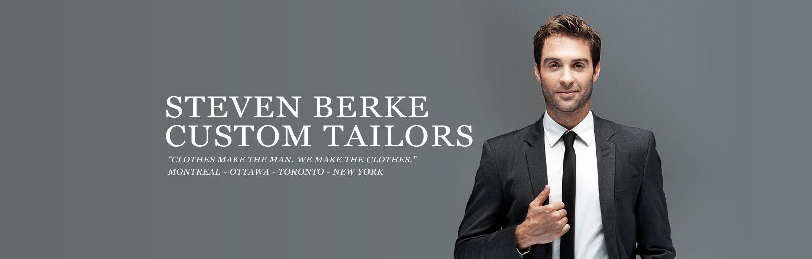 Custom Tailor Steven Berke